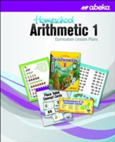 Abeka Homeschool Arithmetic 1  Curriculum Lesson Plans (New Edition)