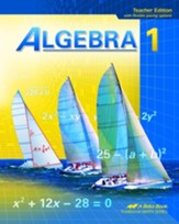 Abeka Algebra 1 Teacher Edition  (Updated Edition)