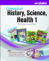 Abeka Homeschool History, Science, & Health Grade 1  Curriculum Lesson Plans