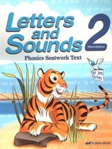 Abeka Letters and Sounds 2 Phonics  Seatwork Text