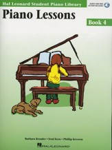 Piano Lessons-Book 4 (Book/Enhanced CD Pack)