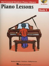 Piano Lessons-Book 5 (Book/Enhanced  CD Pack)
