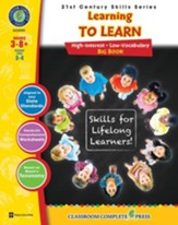 21st Century Skills - Learning to  Learn Big Book Gr. 3-8+ - PDF Download [Download]