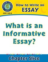 How to Write an Essay: What is an Informative Essay? - PDF Download [Download]