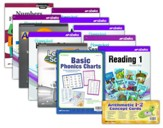 Abeka Grade 1 Homeschool Parent  Full-Grade Kit (New Edition)
