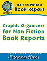 How to Write a Book Report: Graphic Organizers for Non Fiction Book Reports - PDF Download [Download]