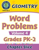 Geometry: Word Problems Vol. 4 Gr. PK-2 - PDF Download [Download]