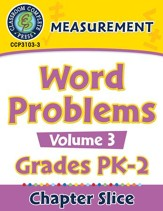 Measurement: Word Problems Vol. 3 Gr. PK-2 - PDF Download [Download]