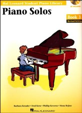 Piano Solos-Book 3 (Book/Enhanced CD Pack)