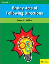 Brainy Acts of Following Directions: Logic Activities - PDF Download [Download]