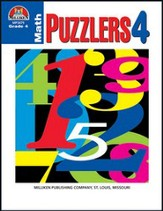 Math Puzzlers - Grade 4 - PDF  Download [Download]