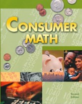 BJU Consumer Math, Student Text (Second Edition; Updated  Copyright)