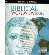 BJU Press Biblical Worldview  Teacher's Edition (ESV Version)