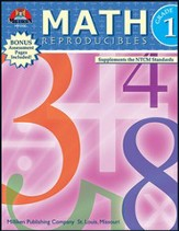 Math Reproducibles - Grade 1 - PDF Download [Download]