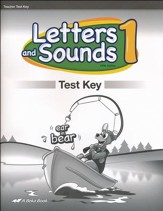 Abeka Letters and Sounds 1 Test Key (New Edition)