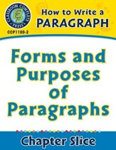 How to Write a Paragraph: Forms and Purposes of Paragraphs - PDF Download [Download]