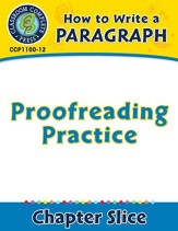 How to Write a Paragraph: Proofreading Practice - PDF Download [Download]