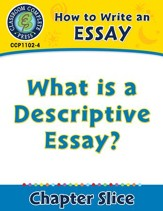 How to Write an Essay: What is a Descriptive Essay? - PDF Download [Download]