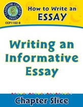 How to Write an Essay: Writing an Informative Essay - PDF Download [Download]
