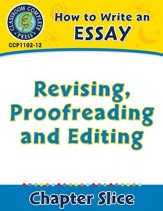 How to Write an Essay: Revising, Proofreading and Editing - PDF Download [Download]