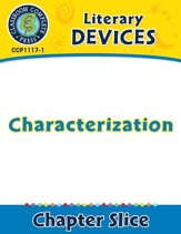 Literary Devices: Characterization -  PDF Download [Download]