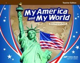 Abeka My America and My World Grade 1 History/Geography  Teacher Edition (5th Edition)