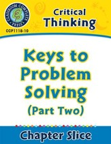 Critical Thinking: Keys to Problem Solving (Part Two) - PDF Download [Download]