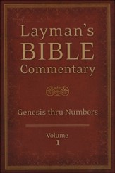Layman's Bible Commentary Vol. 1: Genesis thru Numbers - Slightly Imperfect