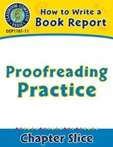 How to Write a Book Report: Proofreading Practice - PDF Download [Download]