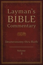 Layman's Bible Commentary Vol. 2: Deuteronomy thru Ruth - Slightly Imperfect