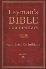 Layman's Bible Commentary Vol. 10: Acts thru 2nd Corinthians - Slightly Imperfect