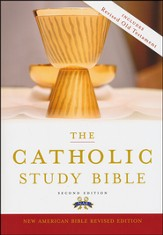 The New American Bible, Catholic Study, Softcover,  Second Edition - Slightly Imperfect