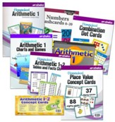 Abeka Grade 1 Homeschool Parent Arithmetic Kit (New Edition)