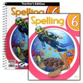 BJU Spelling Grade 6 Kit (2nd  Edition)