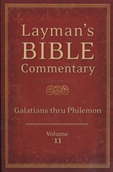 Layman's Bible Commentary Vol. 11: Galatians thru Philemon - Slightly Imperfect