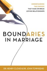 Boundaries in Marriage / Unabridged - eBook