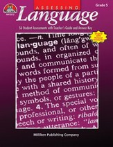 Assessing Language - Gr 5 - PDF  Download [Download]