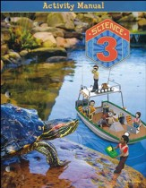BJU Science Grade 3 Student Activity  Manual, Fourth Edition