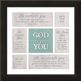 God Is for You Framed Art