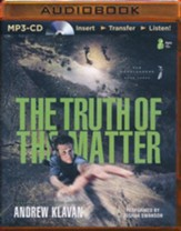 #3: The Truth of the Matter - unabridged audio book on MP3-CD