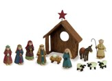 Country Charm Nativity Set 12 Pieces