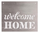 Welcome Home, Silhouette Sign, Large