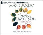 God Is With You Every Day - unabridged audio book on CD
