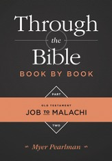 Through the Bible Book by Book, Part 2: Job to Malachi - eBook