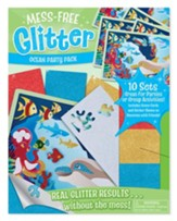 Mess-Free Glitter, Ocean Party Pack