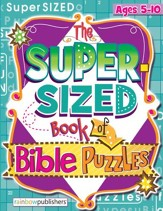 Download: The Super-Sized Book of Bible Puzzles - PDF Download [Download]