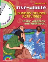 Download: 5 Minute Sunday School Activities - Jesus' Miracles and Messages - PDF Download [Download]