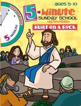 Download: 5 Minute Sunday School Activities - Built on a Rock - PDF Download [Download]