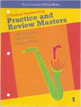 Do It Yoursef D'Nealian Practice & Review Blackline Masters Grade 1