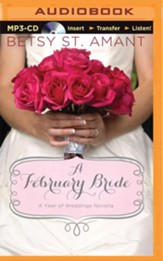 A February Bride - unabridged audio book on CD